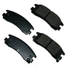 Disc Brake Pad Set-Proact Ultra Premium Ceramic Pads Rear Akebono ACT814