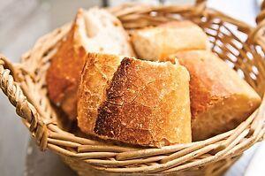 28x7cm Yoyakie Bandeja de t/é Bandeja de Almacenamiento de rat/án Pan Cesta de Mimbre Redonda Tejida de Pan de Fruta Comida Desayuno Display