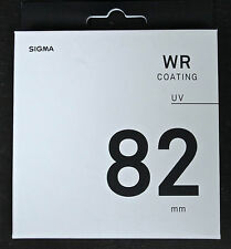 Sigma 82mm WR UV 82mm Filtro Lente nuovo