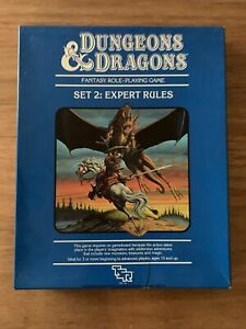 Dungeons and Dragons TSR 1983 Original Vintage Expert Set Plus 4 Modules