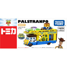 Takara Tomy Disney Motors Sheriff Woody PALS TRANPO Transporter Truck Toy Car