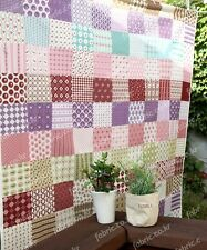 Fat Quarter FABRIC PATCHWORK Bundle 100% COTTON 50cm * 50cm (Garden Flowers)