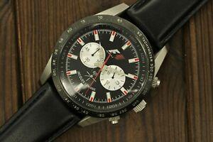 Stylish Jacques Lemans F5018 Japan F1 Chronograph Waterproof 10 ATM Wrist Watch