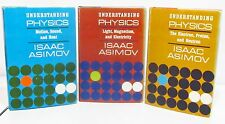 UNDERSTANDING PHYSICS by ISAAC ASIMOV - 3 VOLUME HCDJ SET