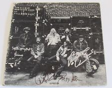 Allman Brothers Signed Lp Fillmore East Gregg Allman Dickey Betts Trucks Jaimoe