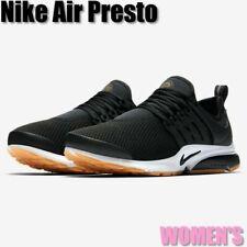 Women's Nike Air Presto 878068-005 Black/White Gum Yellow Soles Size 10 New