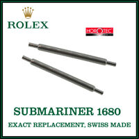 ♛ ROLEX Exact Replacement 20mm Spring Bars For Vintage Rolex Submariner 1680 ♛