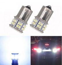 Ampoules BA15S LED P21W 50 SMD Blanc Veilleuses feux de jour recul pour voiture
