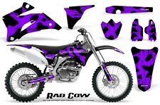 YAMAHA YZ250F YZ450F 06-09 GRAPHICS KIT CREATORX DECALS RAD COW PR