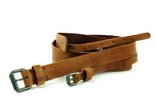 Levi´s Leder Gürtel Unisex 221436 braun Leather Belt Größe 85 cm Breite 3,8 cm