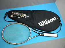 "Wilson Hammer Titanium 7.0 Stretch OS 110 Tennis Racquet with Cover 4 3/8"" Grip"