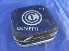 OLIVETTI SCATOLA NASTRO DATTILOGRAFO TYPEWRITER OLD MACCHINA DA SCRIVERE ITALY