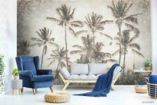3D Coconut Tree Self-adhesive Removeable Wallpaper Wall Mural Sticker 90