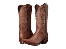 Ariat Alamar   Womens Boots  Chocolate Lizard Print Leather  8.5  NIB