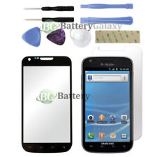 CLOSEOUT Black Replacement Glass+LCD Screen Protector for Samsung Galaxy S2 T989