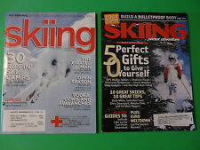 2 Issues SKIING MAGAZINE ~ Ski Camps, Walkie-Talkies, Euro Meltdown, X-Rated Man