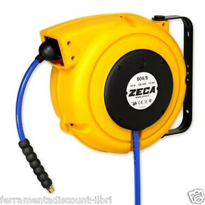 ZECA Hose Reel Winder Winder Automatic For Compressed Air Water With