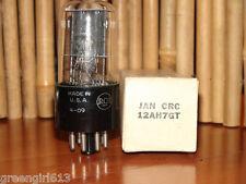 Vintage Jan Crc Rca 12Ah7 Gt Black Plates Vacuum Tube 1954 #0251 025 42