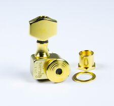 Sperzel Trimlok 6 Inline Left Hand locking Gold Plated tuners NEW Auth Dealer