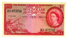 British Caribbean Territories ... P-7c ... 1 Dollar ... 1960 ... *XF*