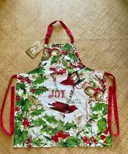 NEW WITH TAGS MICHEL DESIGN Christmas  JOY Chef's Apron