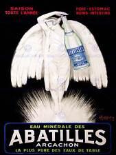 TABEL WATER ABATILLES ANGEL FAIRY WINGS FRANCE NEW ART PRINT POSTER CC2557