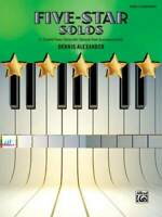 Five-Star Solos, Bk 2: 11 Colorful Songs for Elementary Pianists (F - ACCEPTABLE