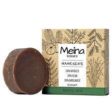 Meina Naturkosmetik - Bio Haarseife Ayuverdische Kräuter, Shampoo Bar Vegan, 80g