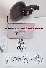 O-Ring Rebuild Kit for ES Manufacturing G100 Cup / Dump Gun for Gelcoat & Resin