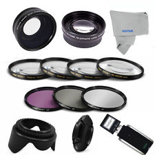 52MM Lens Set & Filter Kit for Nikon D3300 D3200 D3100 D3000 D5100 D5000 D7000HD
