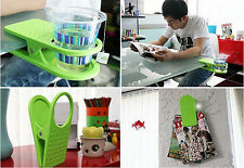 1x Creative Drink Cup Coffee Mug Desk Lap Folder Table Holder Clip Home/Office P