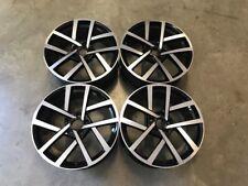 """18"""" 2018 Golf Jurva Style Wheels Gloss Black Machined VW Golf MK5 MK6 MK7"""