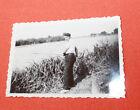 Photographie Vintage snapshot 1938 pêcheur Chaugey pêche Bourgogne