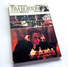 TIM BURTON Filmmakers JAPAN BOOK Beetlejuice Batman Ed Wood Mars Attacks