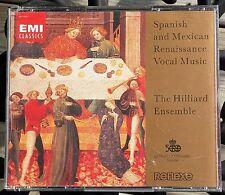 Spanish and Mexican Renaissance Vocal Music The Hilliard Ensemble EMI 2 CDs