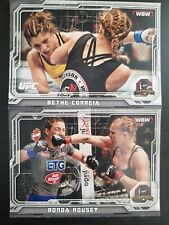 Topps ufc 2014 Champions Bethe Correia And Ronda Rousey