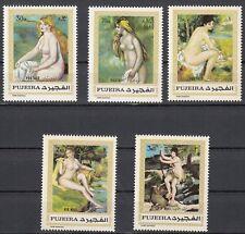 Fujeira 648 - 653 postfrisch, Aktgemälde von Auguste Renoir