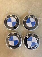 Fit 4X BMW Emblem Car Wheel Rim Center Cap Badge Hub Stickers Decal 4pcs 68mm