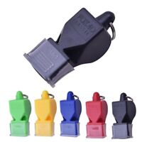 Plastic Sports Referee Emergency Whistle Survival Kit Outdoor Amusing