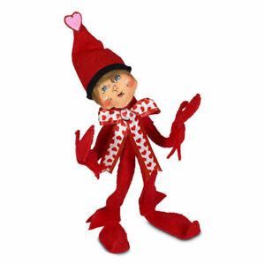 Annalee Dolls 2021 Valentine 9in Happy Valentine's Day Elf Plush New with Tags