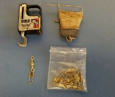 Vintage Fishing Weight scale + String + Clips