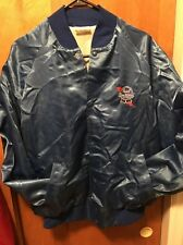 Pabst Blue Ribbon Pbr Milwaukee Beer ~ Men's Large ~ Vintage 1970s Satin Jacket