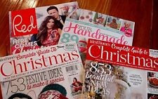British Magazines Cath Kidston Mary Berry Jamie Oliver Red Ideal Homes Christmas