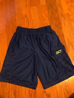 Under Armour UA Basketball Curry Golden State Warriors Shorts Mens Large L EUC