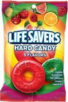 Lifesavers 5 Flavor Hard Candy Individually Wrapped