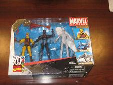 TRU Marvel Universe Daredevil STEALTH Iron Man Silver Surfer 3 Pack Figure MIB