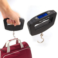 50kg/10g LCD Digital Fishing Hanging Luggage Electronic Scale Hook Weight Scales