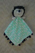 Oh Joy! Target Hedgehog Lovey Security Blanket Blue White Green Gray Plush Toy
