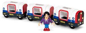 Brio TUBE METRO TRAIN Wooden Toy Train
