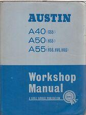 AUSTIN A40 (GS5) A50 (HS5) A55 (HS6 HV6 HK6) 1954-Officina Riparazione Manuale